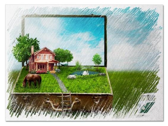 Купить дом во сне