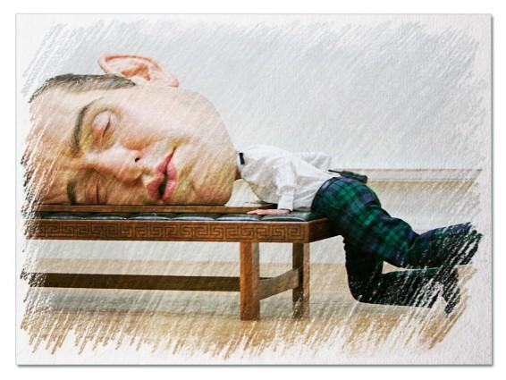 Большая голова во сне
