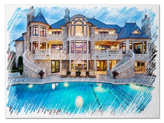 Большой дом во сне