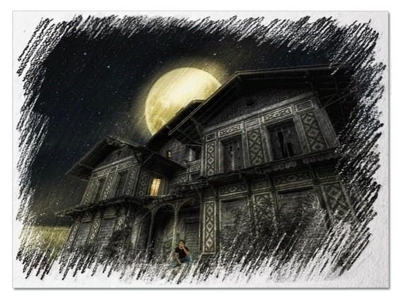 Старый дом во сне
