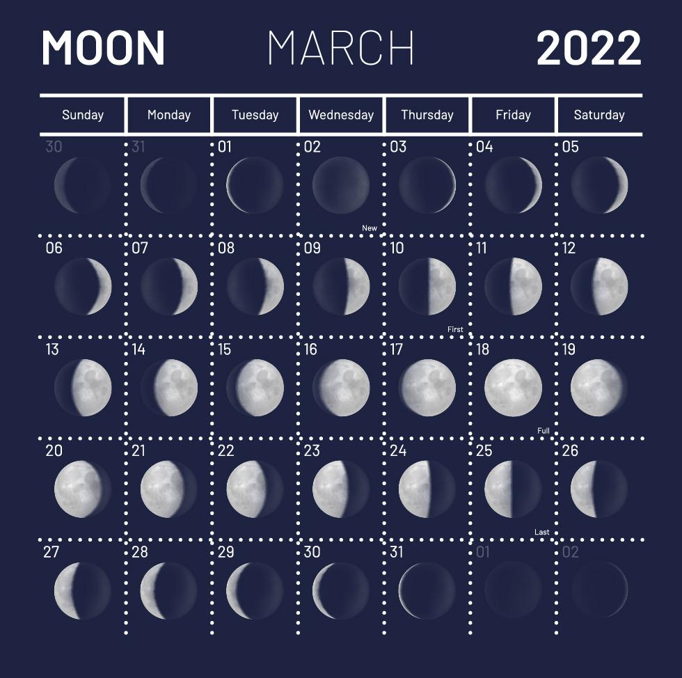 Лунный календарь садовода огородника на март