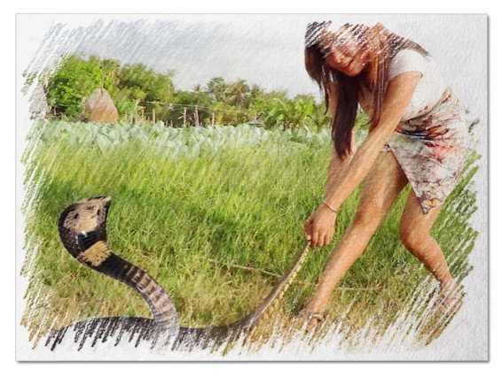 Убивать змею во сне